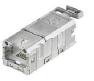 2 trozo cobinet rj45-enchufe hembra 6920 0052.1 plata los conectores o enchufes rj45-enchufe hembra