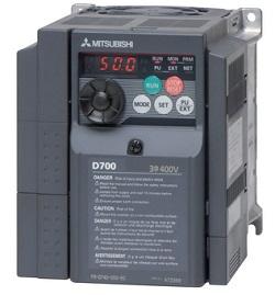 Mitsubishi FR-S520S-0.75-EC 1PH 220-240vac 0.75KW 4.1A Inverter+Filter